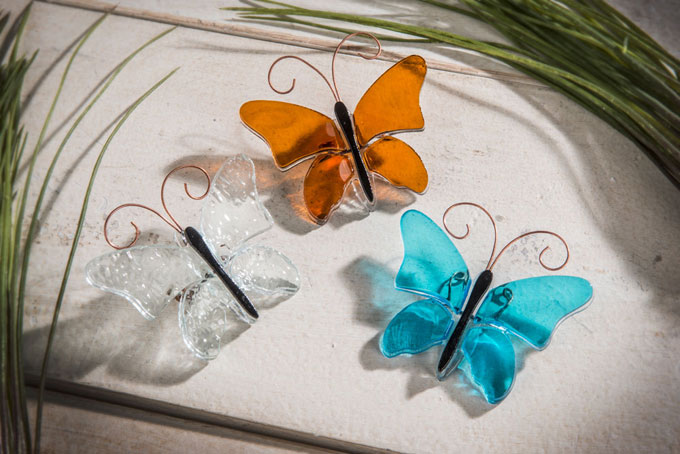 Fused Glass Butterfly collectibles